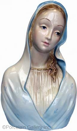 MADONNA BUST circa 1950s by CYBIS example 1