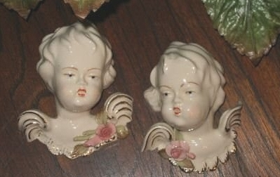 early CYBIS cherub angel heads view 1