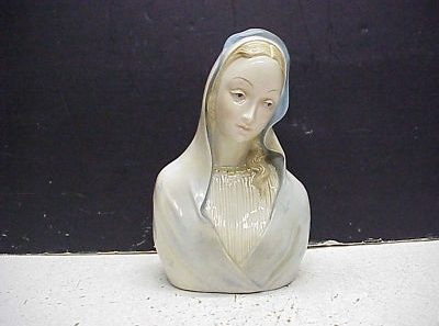 MADONNA BUST circa 1950s by CYBIS example 2