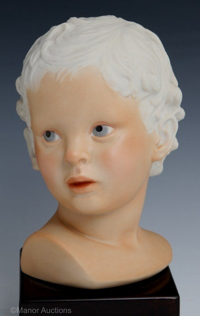 EROS Cupid Head by Cybis in darker coloration