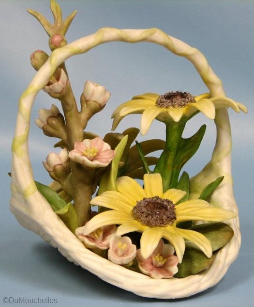 FELICITY flower basket by Cybis