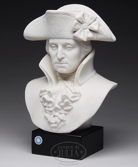 GEORGE WASHINGTON BUST by Cybis
