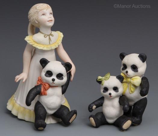 GOLDILOCKS and PANDA BEARS by Cybis
