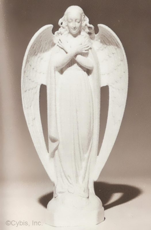 GUARDIAN ANGEL in white ca 1950s by Cybis
