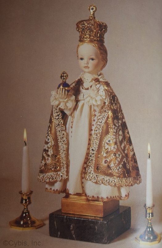 HOLY CHILD OF PRAGUE by Cybis OOAK