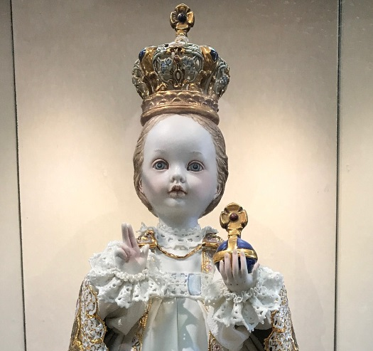 The Holy Child of Prague byCybis