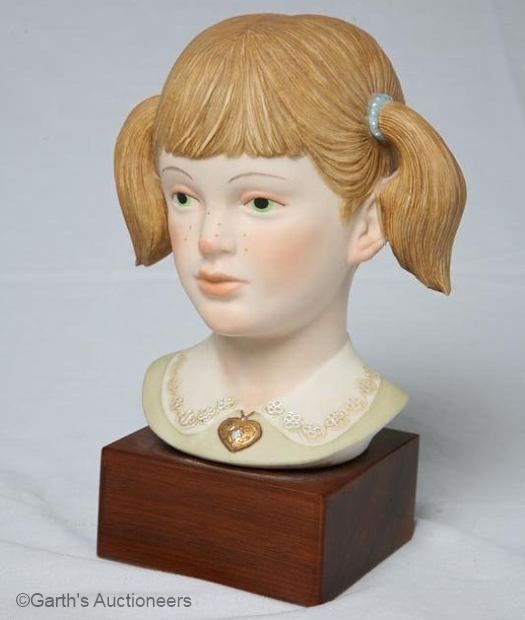 JENNIFER girl head bust by Cybis