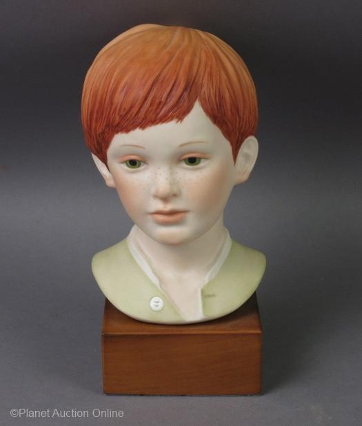 JEREMY boy bust by Cybis