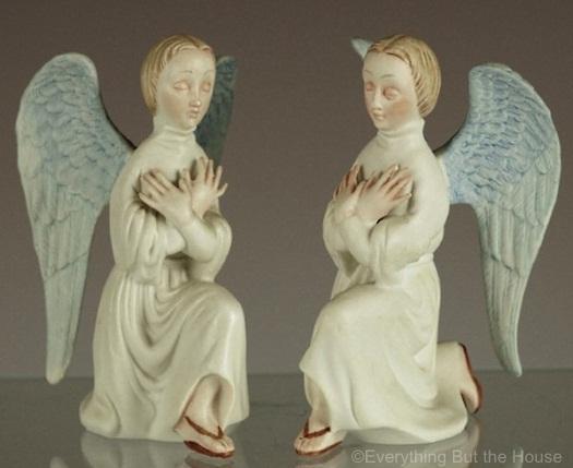 KNEELING ANGELS in color by Cybis view 1