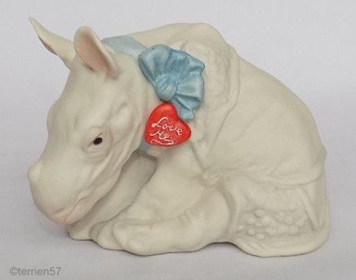LOVE IS BLIND baby rhino by Cybis
