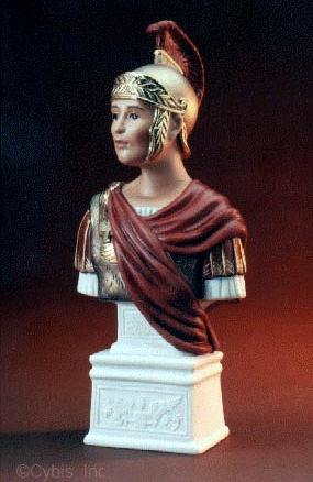 MARK ANTONY BUST by Cybis