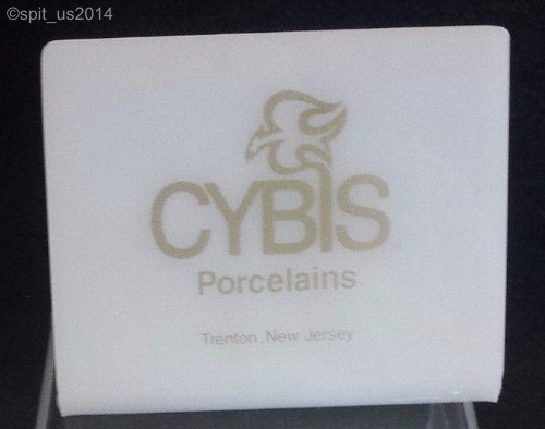 molded plastic Cybis display sign