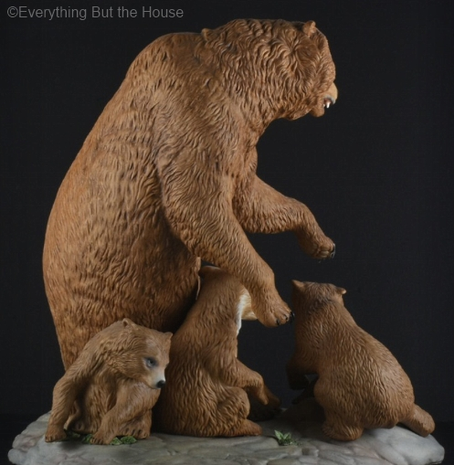 Mother Bear and Cubs view 2