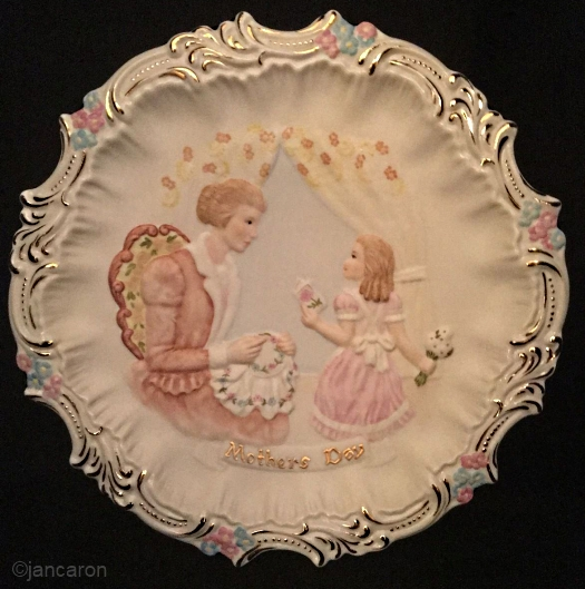 MOTHERS DAY PLATE by Cybis