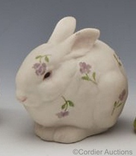 Mr Snowball artists proof with floral decoration