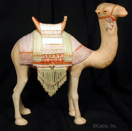 NATIVITY CAMEL I from 1984 in color by Cybis