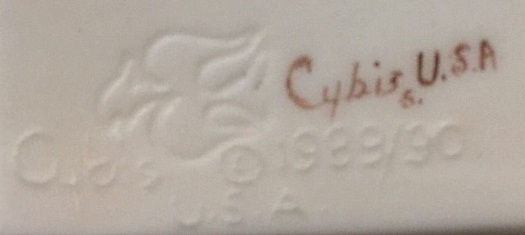 Nefertiti bust signature
