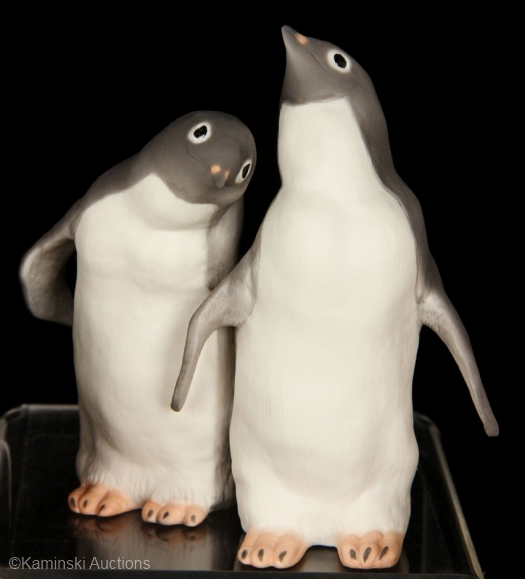 PENGUINS STEPPIN OUT by Cybis