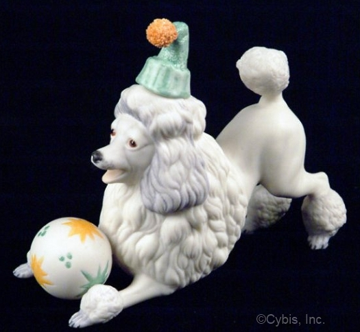 PIERRE THE PERFORMING POODLE by Cybis