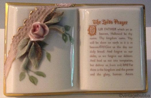 PRAYER BOOK Lords Prayer by Cybis view 1