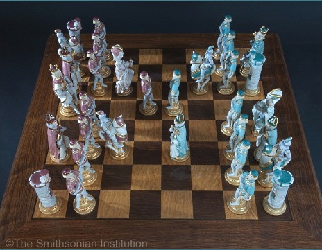 Presidential Set Artists Proof on chess board view 1