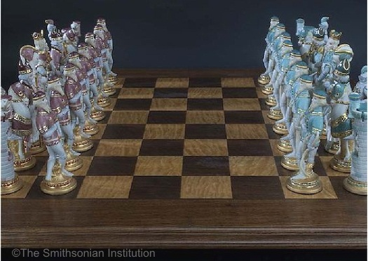 Presidential Set Artists Proof on chess board view 2
