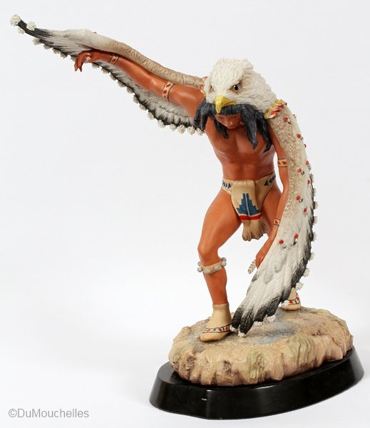 Pueblo Eagle Dancer by Cybis view 2