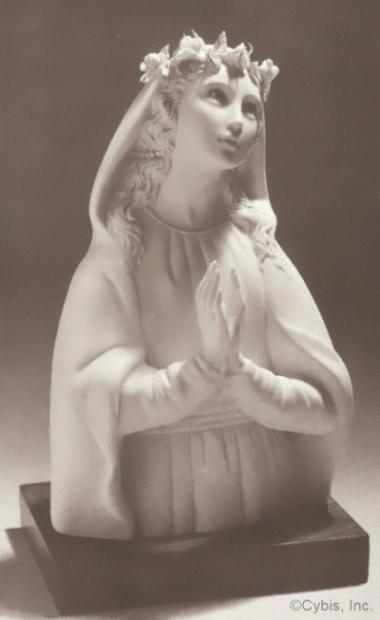 MYSTICAL ROSE madonna by Cybis