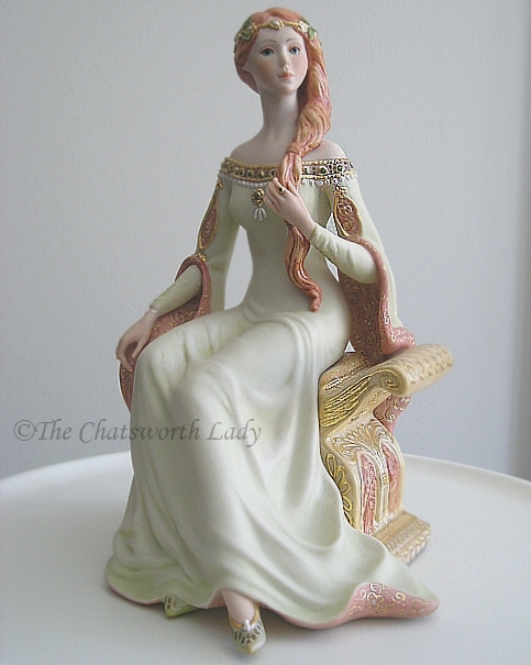 QUEEN GUINEVERE by Cybis OOAK proof