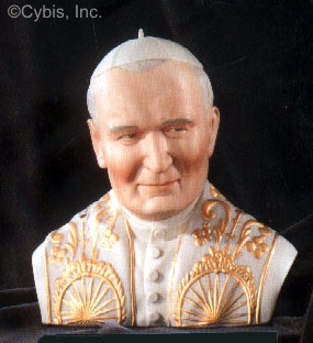 THE POPE circa 1990s by Cybis