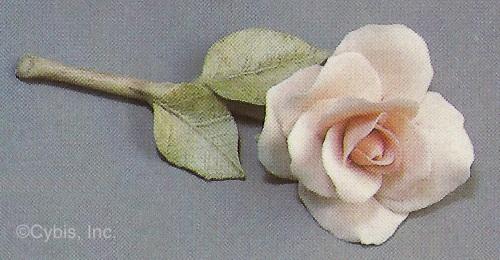 TIFFANY rose by Cybis