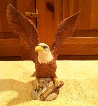 TRENTON SAVINGS BANK BALD EAGLE special edition by Cybis