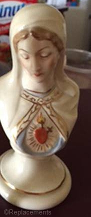 IMMACULATE HEART OF MARY BUST by Cybis