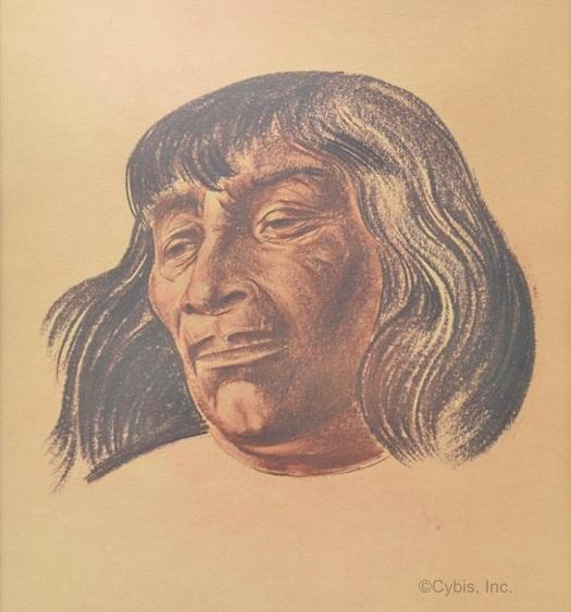 VANISHED DREAMS Yuma portrait by Cybis Folio One