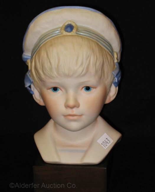 Victorian boy head EDWARD by Cybis