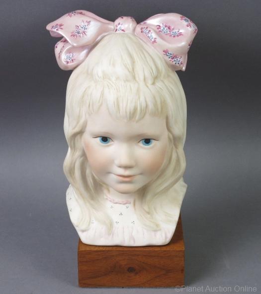 Victorian girl head VICTORIA by Cybis