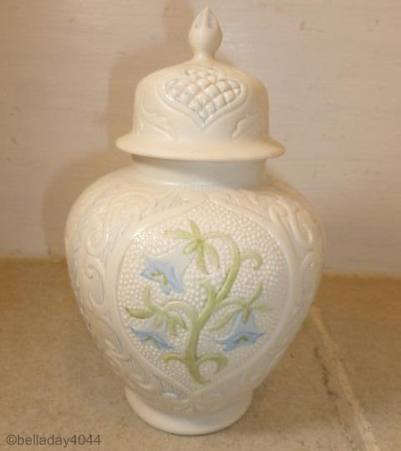 VIRGINIA BLUEBELLS GINGER JAR by Cybis