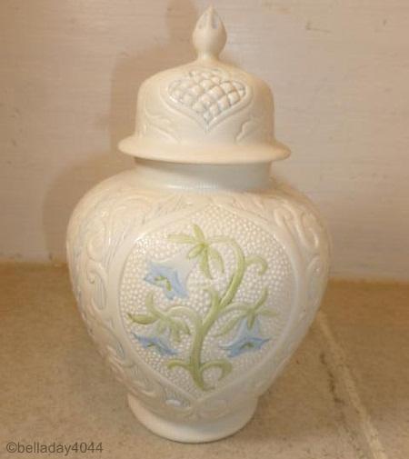 VIRGINIA BLUEBELLS GINGER JAR by Cybis
