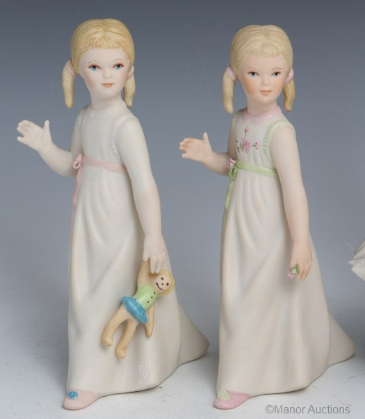 WENDY and BETSEY BOBBIN by Cybis
