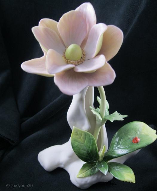 WINDFLOWER in pale pink by Cybis