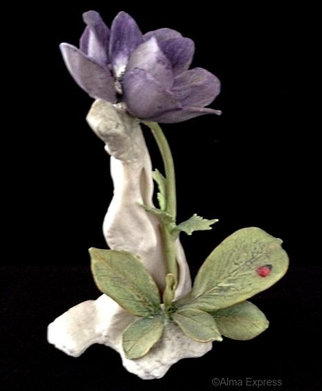 WINDFLOWER in purple by Cybis