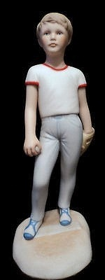 Baseball Player with red trimmed shirt by Cybis