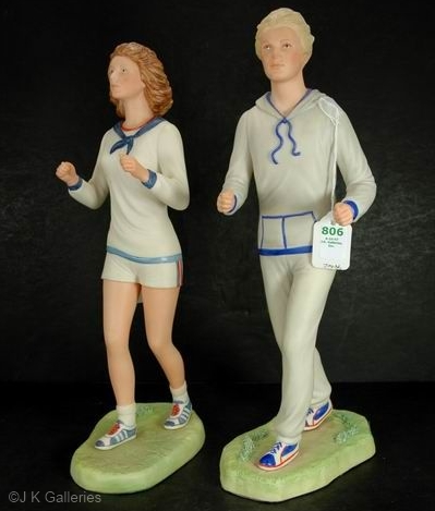 JOGGER FEMALE and JOGGER MALE by Cybis