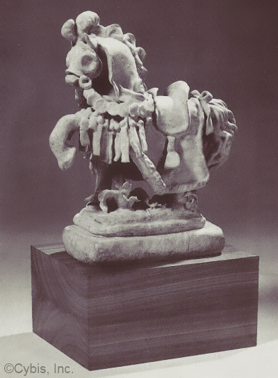 papka MEDIEVAL HORSE by Cybis in 1940s