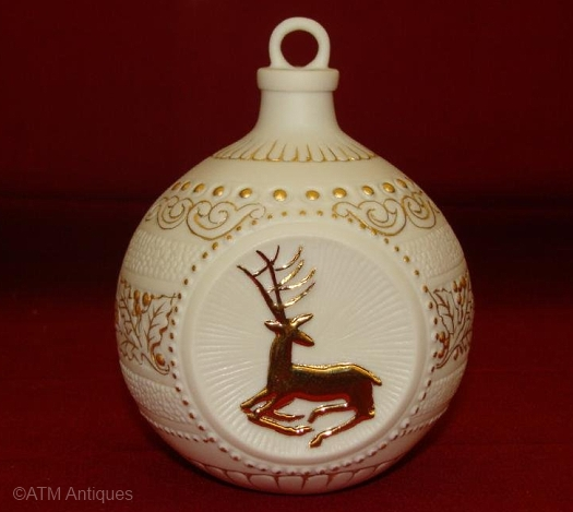 REINDEER ORNAMENT by Cybis