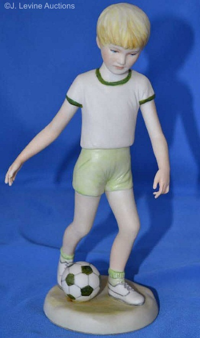 Soccer Player in green colorway by Cybis