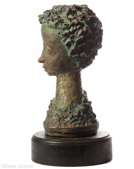 Womans Head circa 1940s by Marja Cybis v2