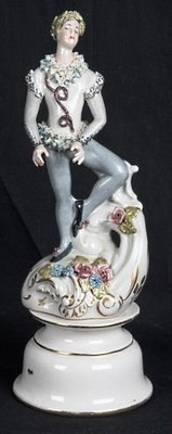 Cordey male ballet figure on strange pedestal