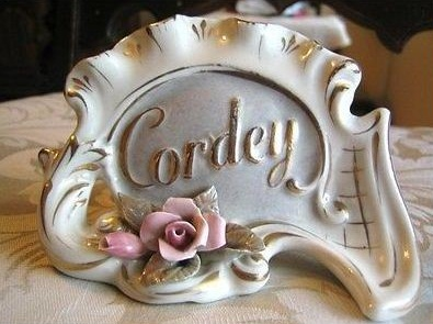 Cordey dealer display sign