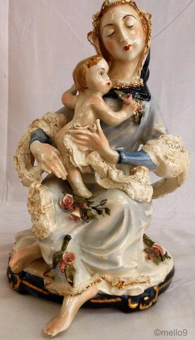 A Rare Cordey-to-Cybis Madonna andChild